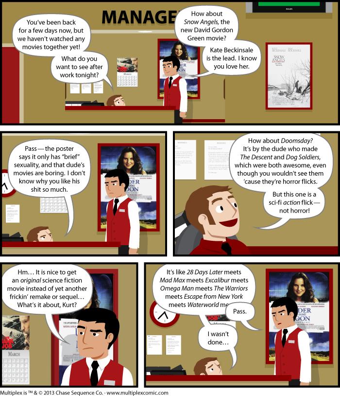 Multiplex: Book 3 bonus comic