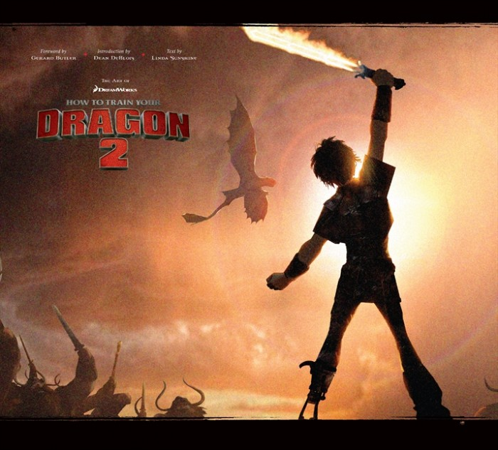 The Art of How to Train Your Dragon 2 cover